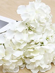 cheap -Artificial Flowers 9 Branch Classic Traditional / Classic Hydrangeas Tabletop Flower