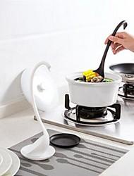 abordables -Herramientas de cocina El plastico Cocina creativa Gadget Cuchara Para utensilios de cocina 1pc