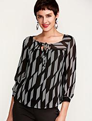 cheap -Women's Cute Blouse - Print