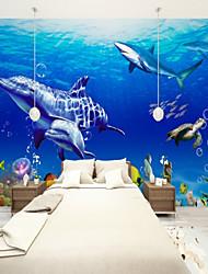 Недорогие -подводный мир красоты индивидуальные обои для стен 3d настенные обои, подходящие для детской комнаты