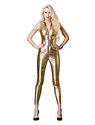 cheap -Cosplay Costume Zentai Cosplay Costumes Silver / Red / Golden Solid Color Zentai / Catsuit Spandex / Lycra Spandex All Christmas / Halloween / Carnival