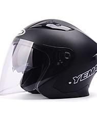 abordables -YEMA 630 Casque Bol Adultes Unisexe Casque de moto Antichoc / Anti UV / Coupe-vent