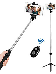 cheap -VORMOR Selfie Stick Bluetooth Extendable Max Length 77 cm Android / Universal / iOS Android / iOS