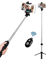 Недорогие -VORMOR Палка для селфи Bluetooth С возможностью удлинения Максимальная длина 77 cm Назначение Android / универсальный / iOS Android / iOS