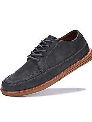 cheap -Men's Oxford Spring Comfort Sneakers Black / Gray / Brown