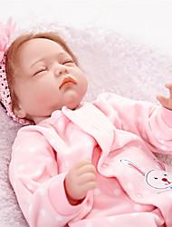 cheap -FeelWind Reborn Doll Baby Girl 22 inch lifelike Kid's Girls' Gift
