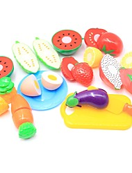 cheap -Pretend Play Food / Fruit Parent-Child Interaction Plastic Shell Preschool Gift 13 pcs