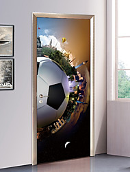 cheap -Decorative Wall Stickers / Door Stickers - Holiday Wall Stickers Football / 3D Living Room / Bedroom