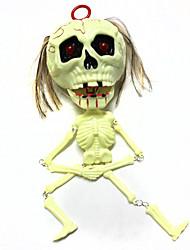 Недорогие -Товары для Хэллоуина Ужасы Скелет / Череп 1 pcs Куски Все Взрослые Подарок