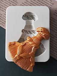 Недорогие -Инструменты для выпечки Силикон Праздник / 3D в мультяшном стиле / Креатив Торты / Шоколад / конфеты Квадратный Формы для пирожных 1шт