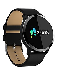 cheap -Smart Bracelet Q8 Heart Rate Monitor / Waterproof / Blood Pressure Measurement / Pedometers / Calories Burned Pedometer / Call Reminder / Sleep Tracker / Sedentary Reminder / Alarm Clock / NRF52832