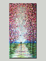 Недорогие -mintura® ручная роспись абстрактного пейзажа пейзаж пейзаж маслом на холсте современные картины настенного искусства для домашнего украшения, готовые повесить