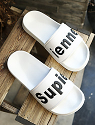 cheap -Men's Shoes EVA(ethylene-vinyl acetate copolymer) Summer Comfort Slippers & Flip-Flops White / Black / Red