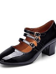 economico -Per donna Scarpe per danza moderna Pelliccia sintetica Tacchi Tacco cubano Personalizzabile Scarpe da ballo Bianco / Nero