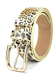 cheap -Women's Basic Waist Belt - Leopard