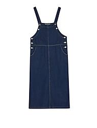 cheap -Women's Going out Denim Dress Strap