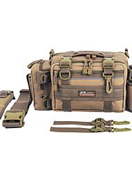 preiswerte -Angelkoffer Tasche für die Angelausrüstung Angelkasten Wasserfest Nylon 32cm*20 cm