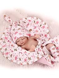 billige -NPKCOLLECTION Reborn-dukker Babydrenge Babypiger 12 inch Fuld krops silicone Silikone - Sødt Børnesikker Ikke Giftig Fødselsdag Tippede og forseglede negle Naturlig hudfarve Børne Unisex / Pige