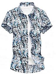 cheap -men's shirt - geometric shirt collar