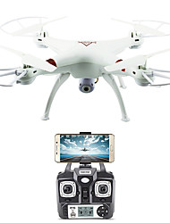 cheap -RC Drone FLYRC X53 RTF 4CH 6 Axis 2.4G With HD Camera 1.0MP 1080P*720P RC Quadcopter One Key To Auto-Return / Auto-Takeoff / Access