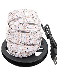 abordables -5 m Tiras LED Flexibles 300 LED 2835 SMD Rojo / Azul / Verde Cortable / USB / Decorativa Alimentado por USB 1pc