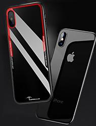 お買い得  -ケース 用途 Apple iPhone X / iPhone 8 クリア バックカバー ソリッド ハード アクリル のために iPhone X / iPhone 8 Plus / iPhone 8