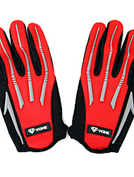 cheap -YOHE Full Finger Unisex Motorcycle Gloves Cloth Breathable / Wearproof / Touch Screen