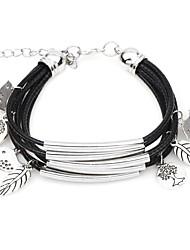 abordables -Femme Charmes pour Bracelets / Manchettes Bracelets - Oiseau, Arbre de la vie Bohème Bracelet Beige / Marron / Bleu clair Pour Cadeau / Anniversaire