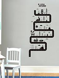 baratos -Autocolantes de Parede Decorativos - Etiquetas de parede de animal Animais Sala de Estar / Quarto / Banheiro