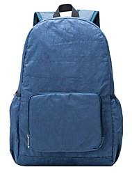 abordables -Unisex Bolsos Nailon Bolso de Deporte y Ocio Diseño / Estampado / Cremallera Azul Piscina