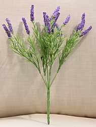 cheap -Artificial Flowers 1 Branch Classic Rustic Lavender Floor Flower