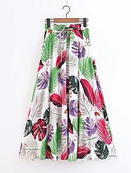 billige -Dame Bodycon Nederdele - I-byen-tøj Blomstret