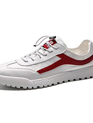 cheap -Men's Microfiber Summer Comfort Sneakers Red / Black / White