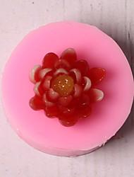 Недорогие -Инструменты для выпечки Силикон Праздник / 3D в мультяшном стиле / Креатив Торты / Многофункциональный / Шоколад Круглый Формы для пирожных 1шт