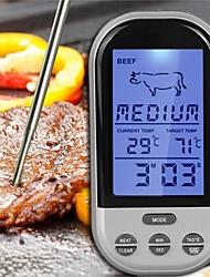Недорогие -Кухонные принадлежности ABS Измерительный прибор / Многофункциональные / Цифровой ЖК-дисплей Themometer Повседневное использование / Многофункциональный / Для мяса 1шт