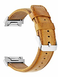 Недорогие -Ремешок для часов для Fitbit ionic Fitbit Классическая застежка Натуральная кожа Повязка на запястье