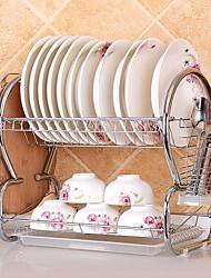 abordables -Organización de cocina Repisas y Soportes Acero Inoxidable Fácil de Usar 1pc