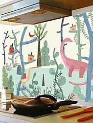 abordables -Calcomanías Decorativas de Pared - Pegatinas de pared de animales Animales Cocina / Comedor
