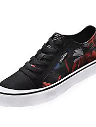 cheap -Men's Light Soles PU(Polyurethane) Summer Sneakers Black / White / Black / Blue / Orange / Black
