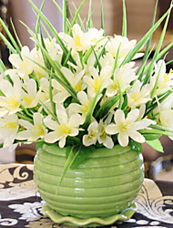 cheap -Artificial Flowers 1 Branch Classic / Single Simple Style Lilies Tabletop Flower