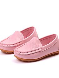 economico -Da ragazza Scarpe PU (Poliuretano) Autunno inverno Comoda Mocassini e Slip-Ons Footing per Bambino Blu / Rosa / Marrone scuro
