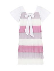 cheap -Women's Holiday Cotton Slim Sheath Dress Square Neck