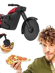 baratos -cortador de pizza de motocicleta rolo de faca de roda de aço inoxidável cortador de pizza cortador de pizza