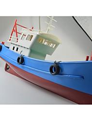 Недорогие -Лодка на радиоуправлении WLtoys FS GT2 ABS каналы КМ / Ч
