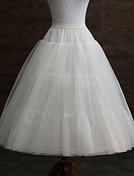 cheap -Wedding / Event / Party Slips POLY Gown Length Shaping Slips / Long with Pleats
