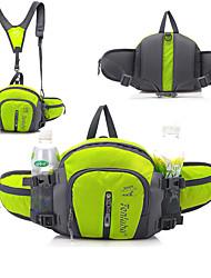 Недорогие -6+3 L Поясная сумка / Сумка на пояс - Дожденепроницаемый, Быстровысыхающий, Пригодно для носки На открытом воздухе Пешеходный туризм, Путешествия Нейлон Красный, Зеленый, Синий