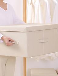 abordables -No tejido Rectángulo Nuevo diseño / Cool Casa Organización, 1pc Cajas de Almacenamiento