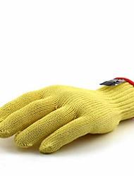 cheap -2 pcs 100g / m2 Polyester Knit Stretch Gloves Non-Slippery