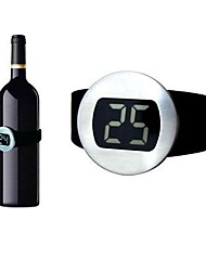 baratos -Relógio digital de vinho termômetro digital vinho tinto