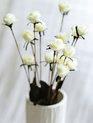 baratos -Flores artificiais 14 Ramo Clássico Moderno / Contemporâneo / Estilo simples Rosas Flor de Mesa